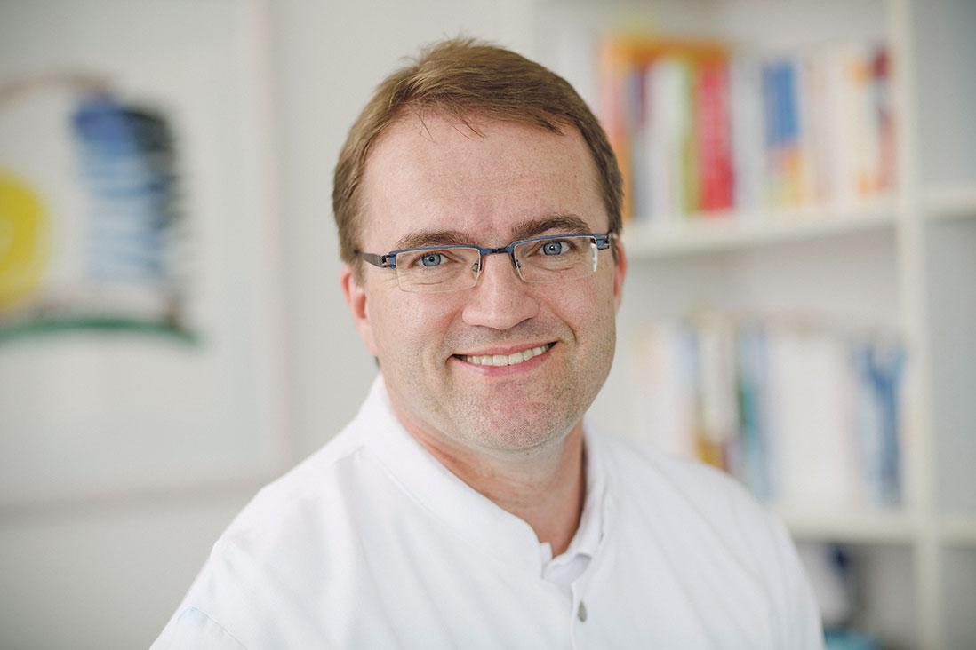 Portrait: Prof. Dr. Matthias Augustin