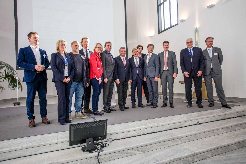 Eröffnung des Symposiums in Neuss mit Herrn Bundesgesundheitsminister Herrmann Gröhe