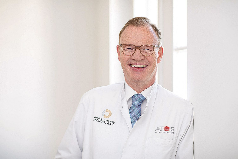 Porträt: Privatdozent Dr. med. habil. Andreas Dacho
